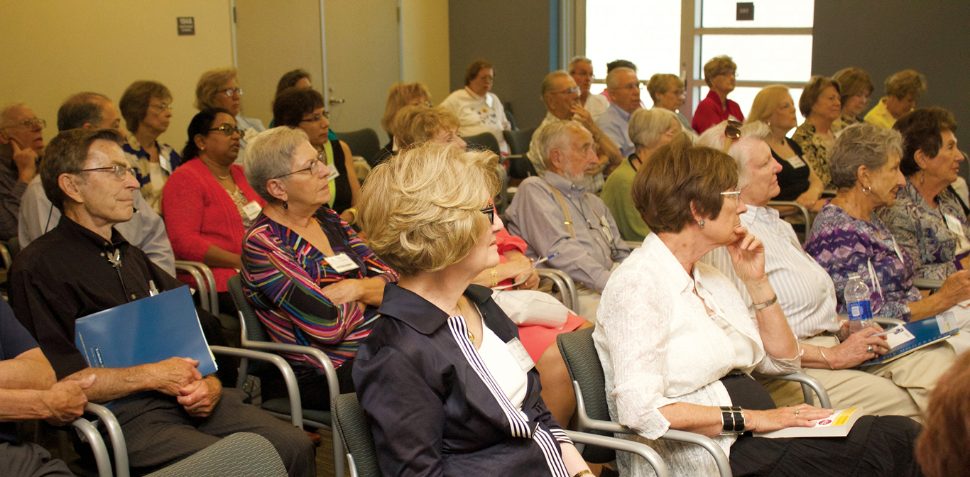 Audience at Friends of LA BioMed