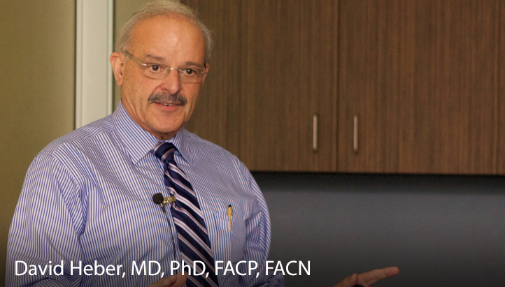 David Heber, MD, PhD, FACP, FACN