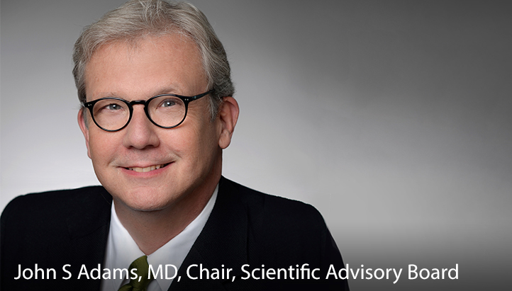 John S Adams, MD, Chair, Scientific Advisory Board
