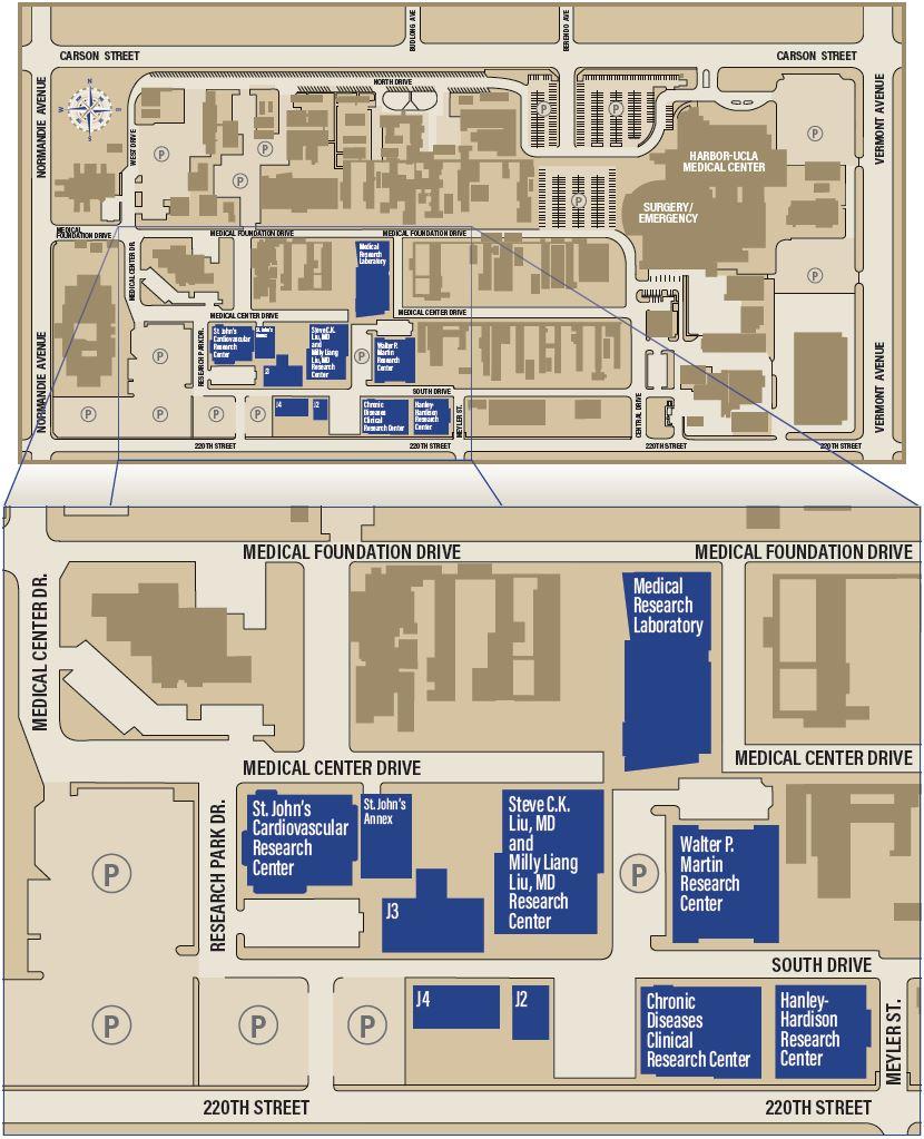 Maps & Directions | LA BioMed