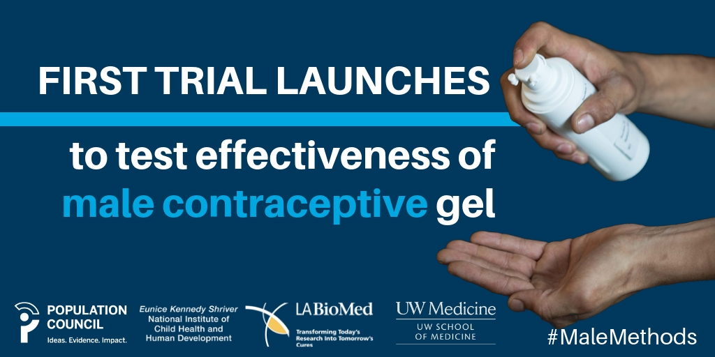 Male Contraceptive Gel Launch